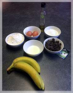 bananenchocoladeingredienten