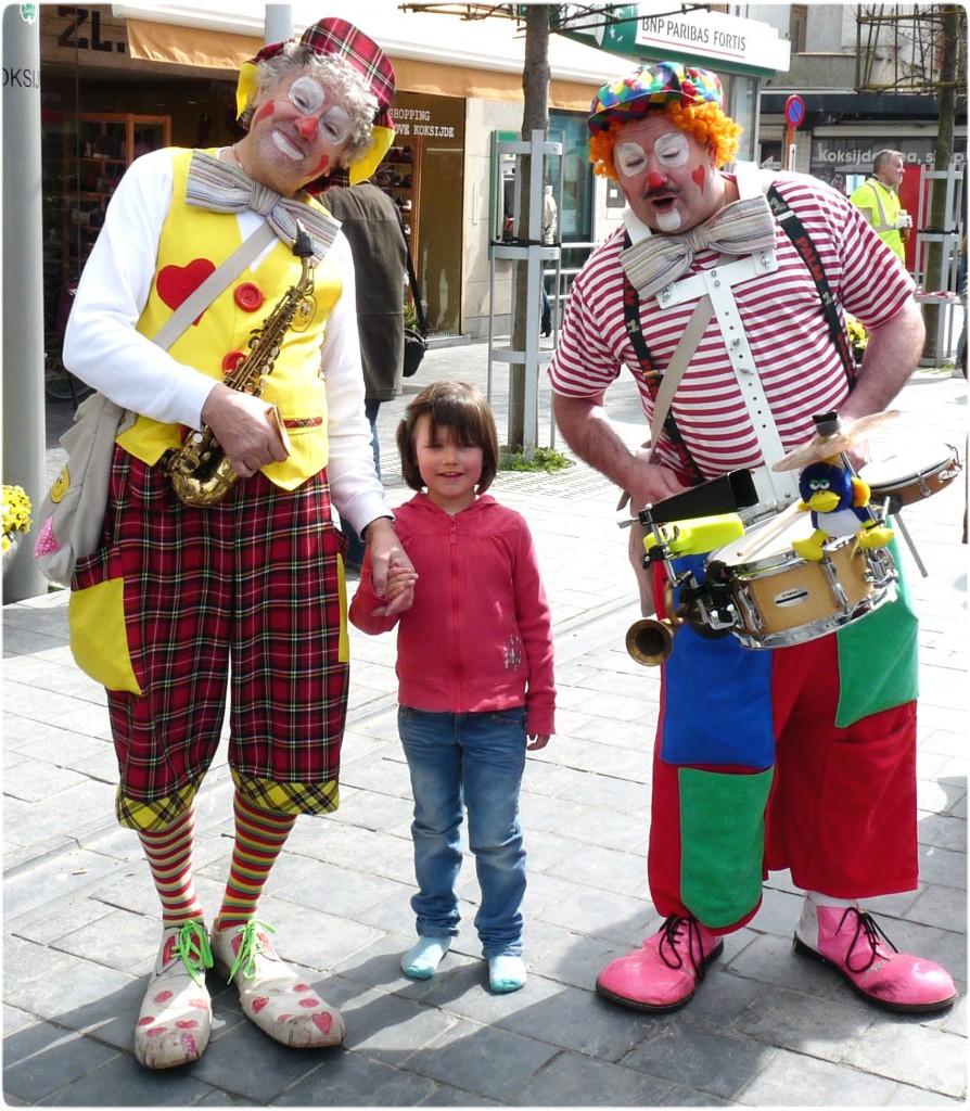 koksijde-clown