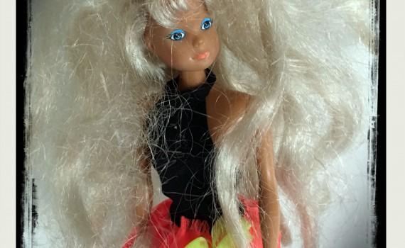 barbie haar ontploft