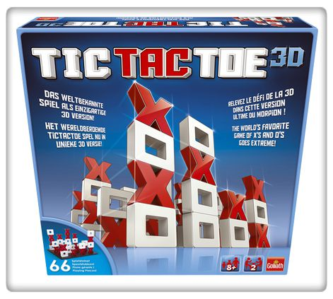 tictactoe3D, goliath games