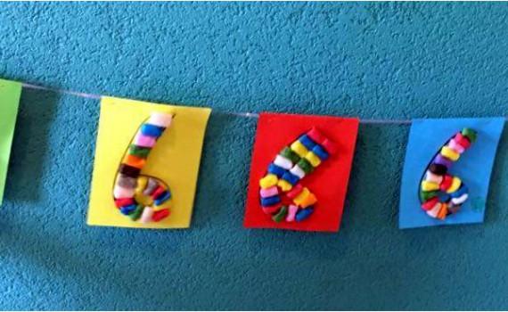 vlaggenlijn - playmais