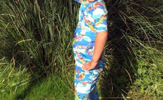 ninie kinderkleding, maxi dress, made in holland