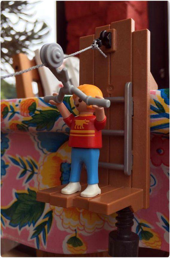 playmobil bungalow zomerbungalow kabelbaan