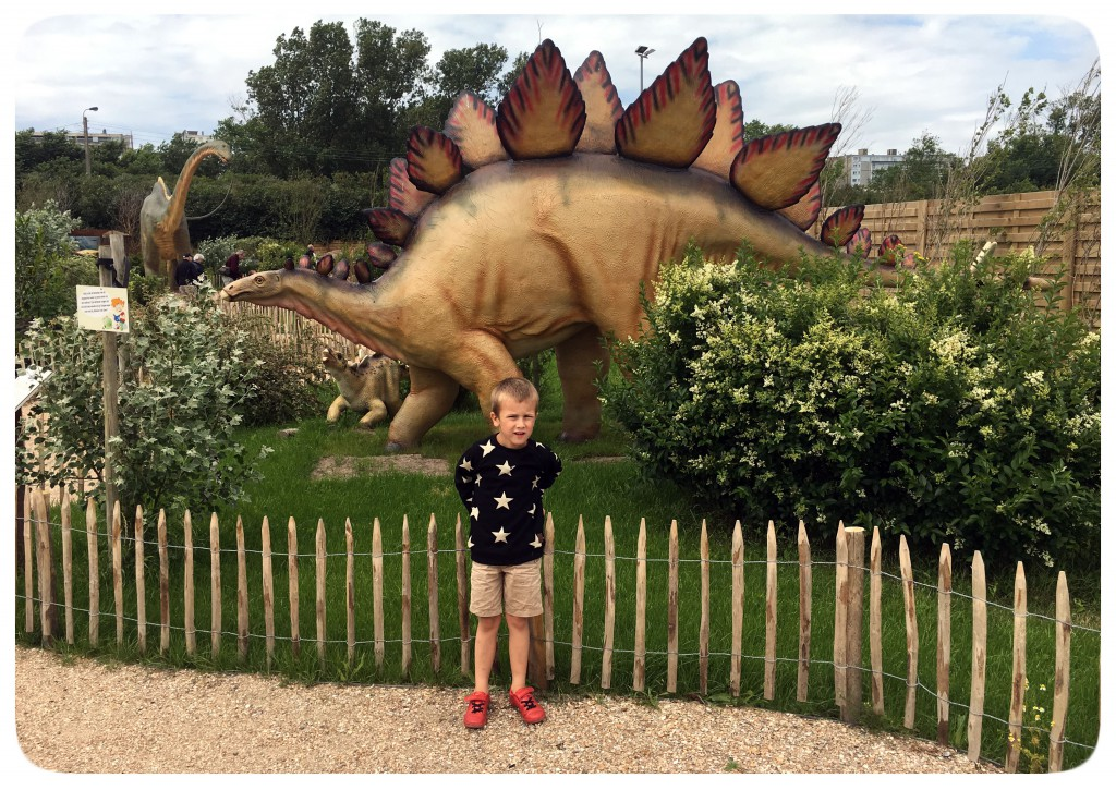 dinopark, middelkerke, stegosaurus