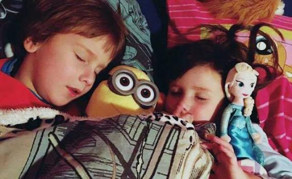 slapen, minions, frozen