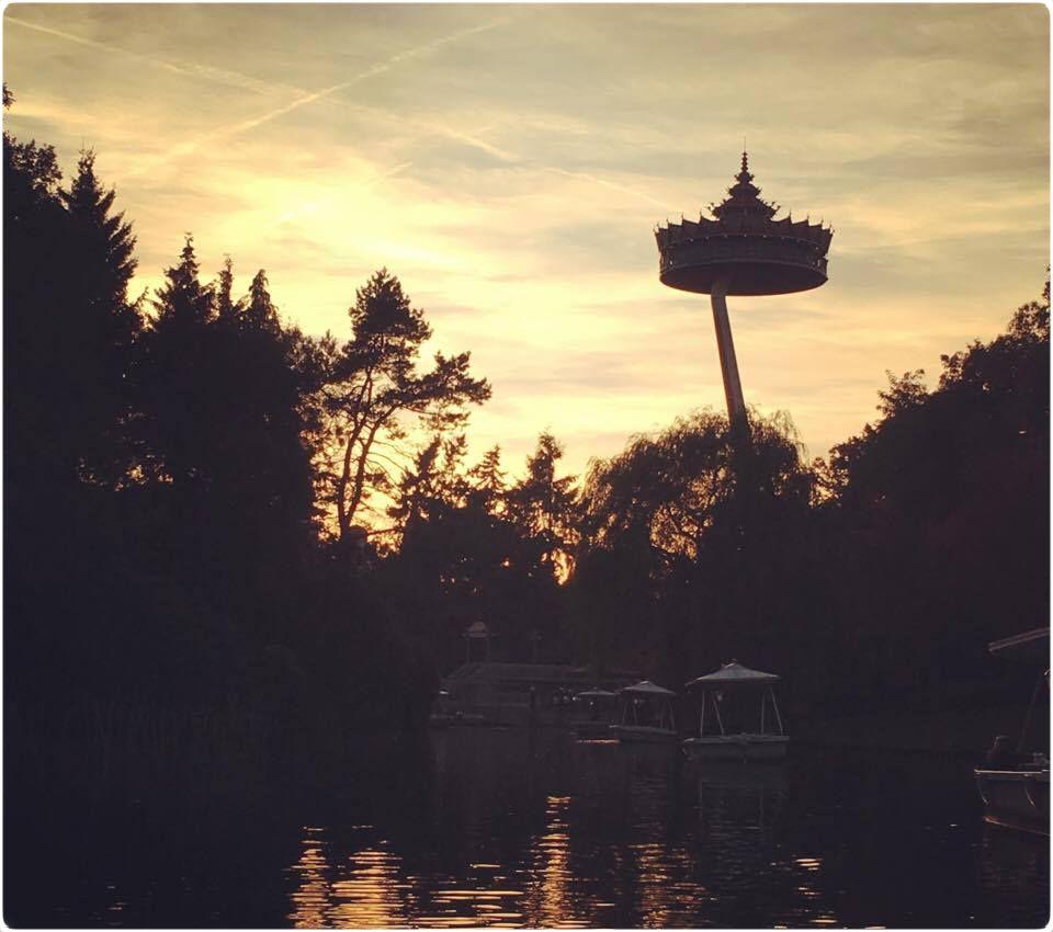 efteling, pagode