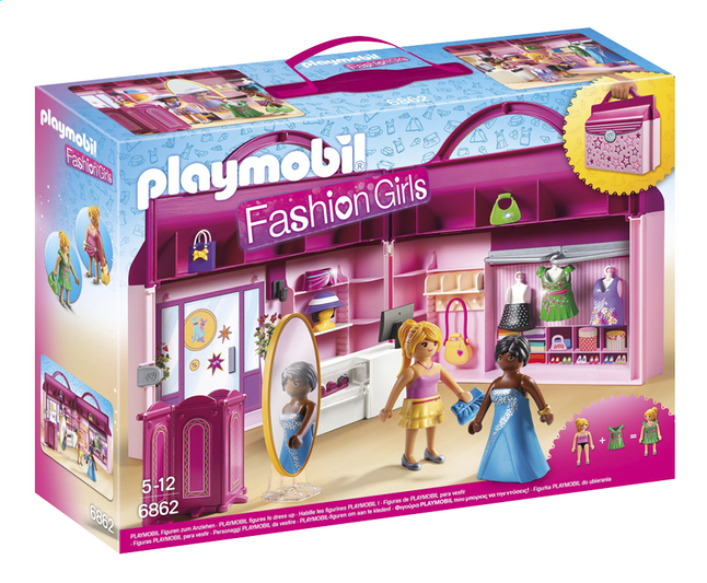 playmobil fashion shop
