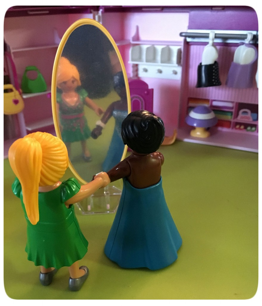 playmobil, fashion shop
