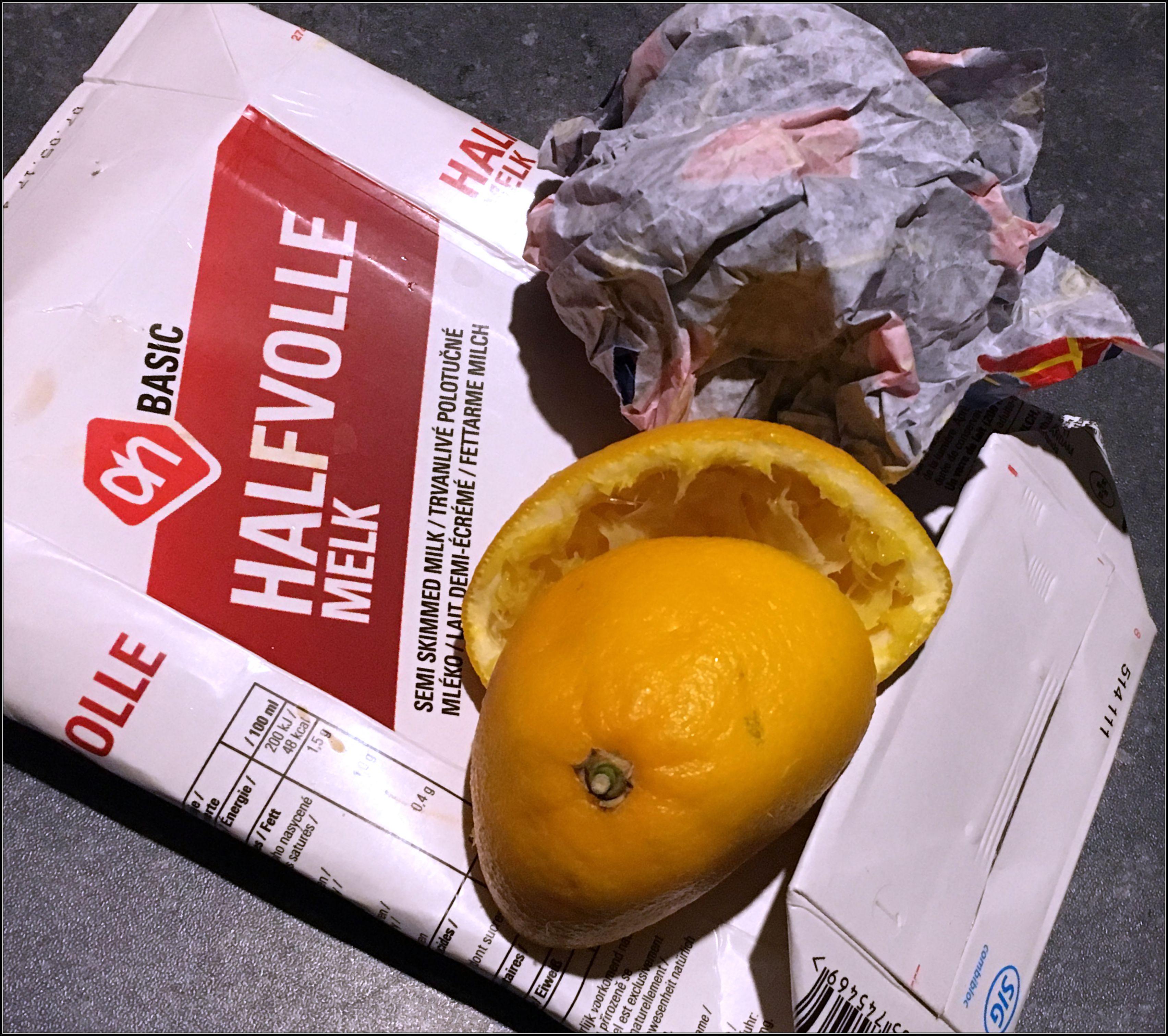 sorteren, afval