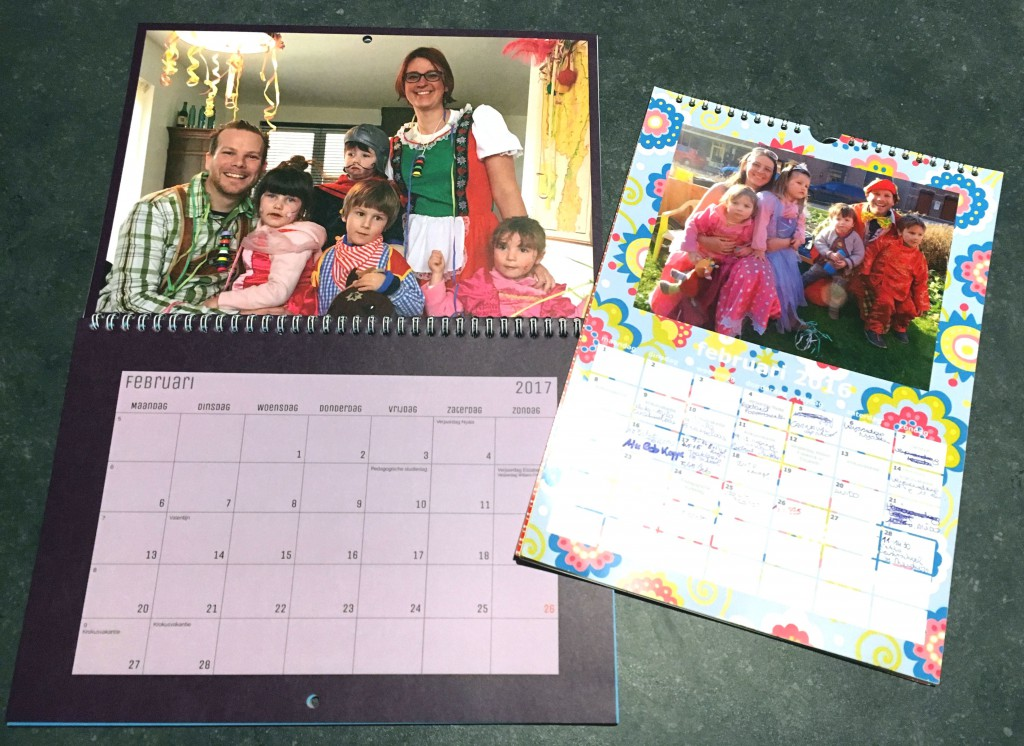 fotokalender, carnaval, albelli