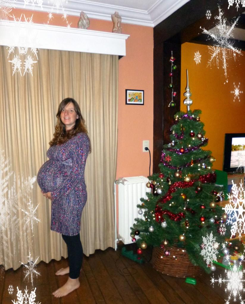 kerst, 2012, tweeling, tweelingzwangerschap