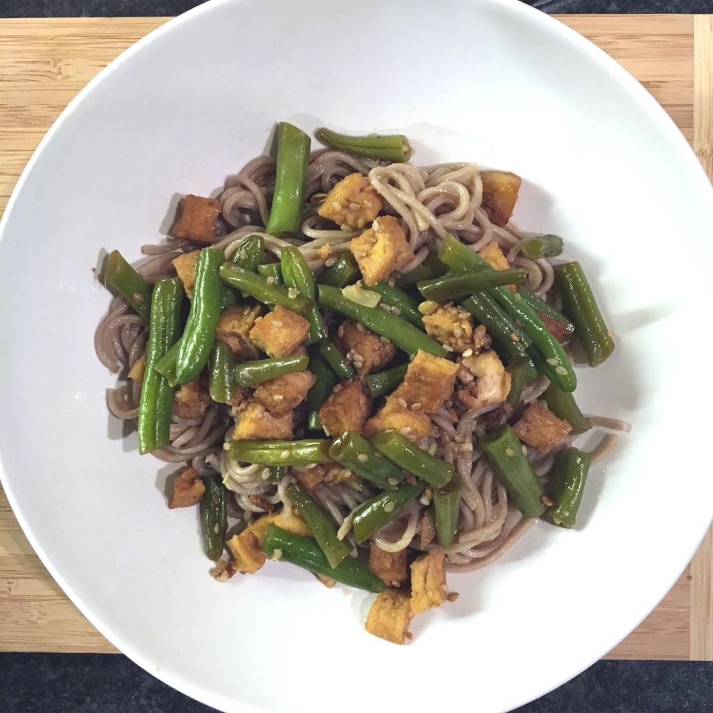 maaltijdboxen, hello fresh, vegi, tofu, sobanoedels