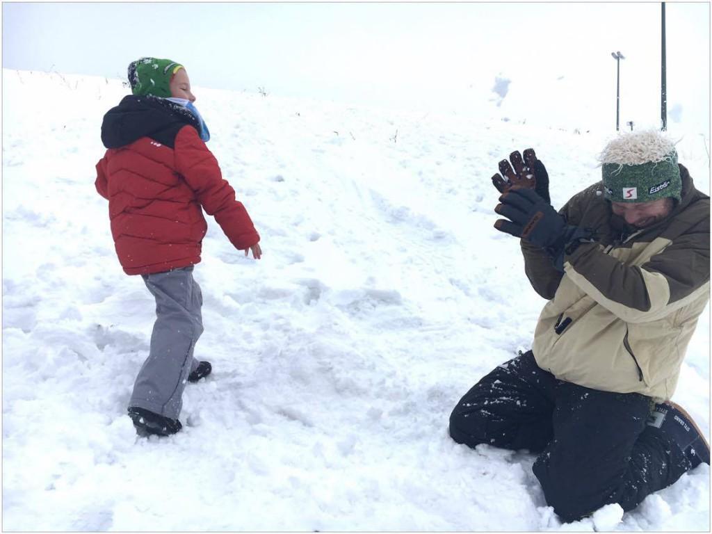 sneeuwballen, sneeuw, jalhay