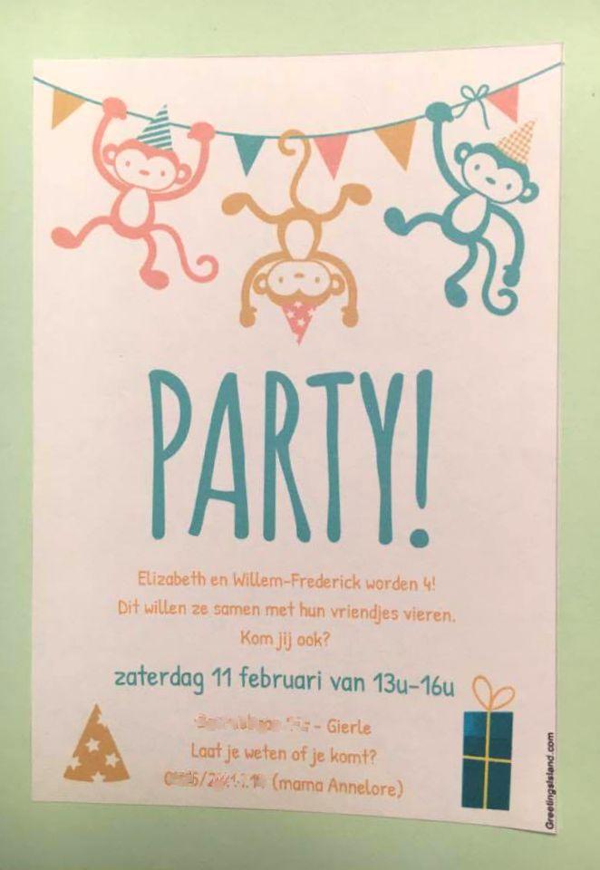uitnodigingen, free printables, verjaardag