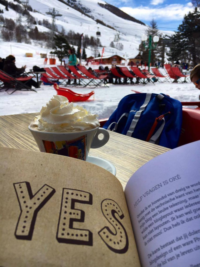 me time, blogboek, skivakantie