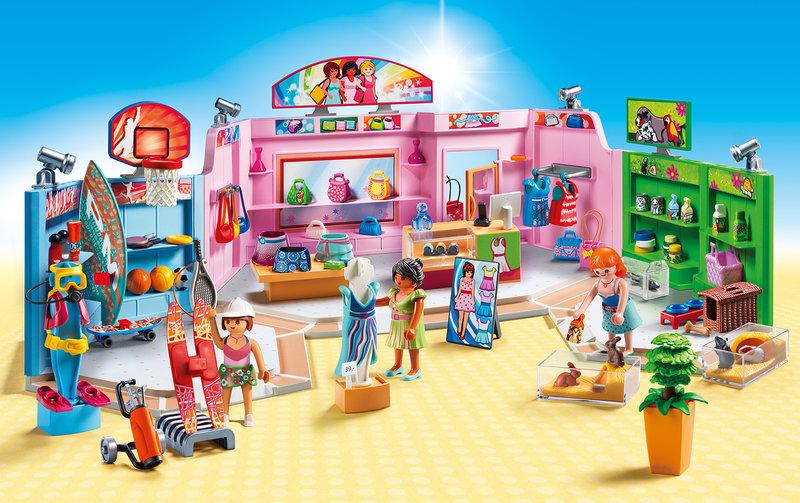 playmobil winkelgalerij