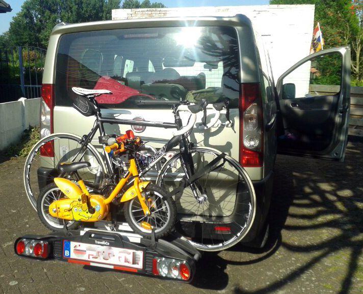 fietsen, kamperen