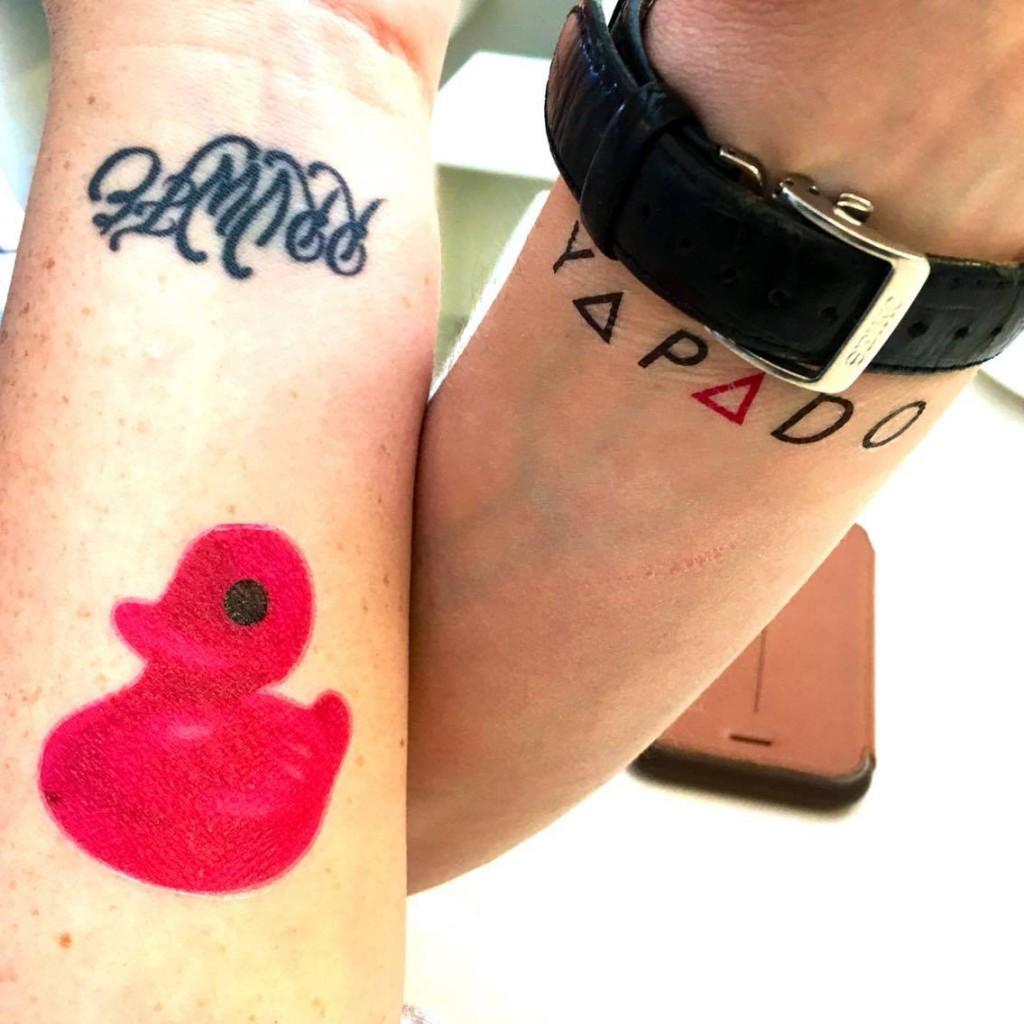 yapado, temporary tattoo, press days