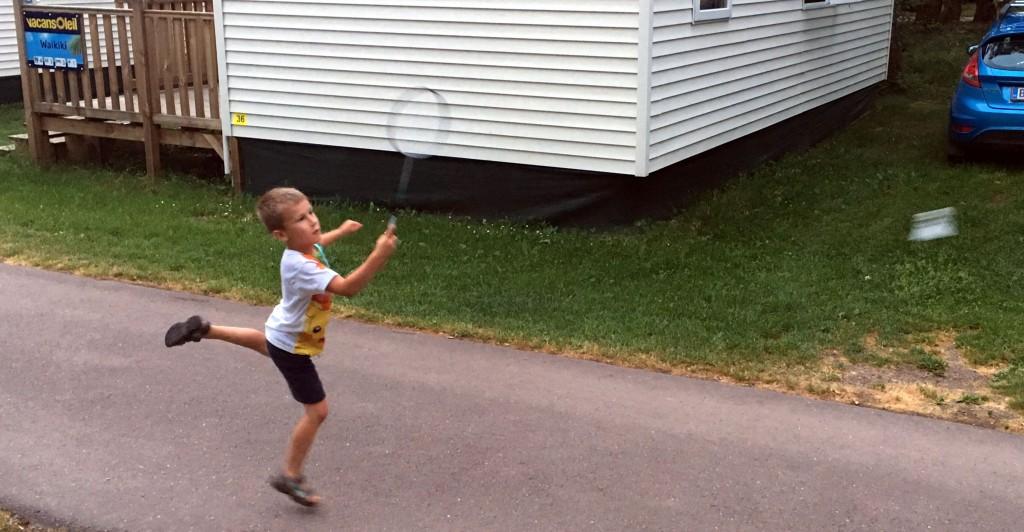 badminton, vacansoleil, kamperen