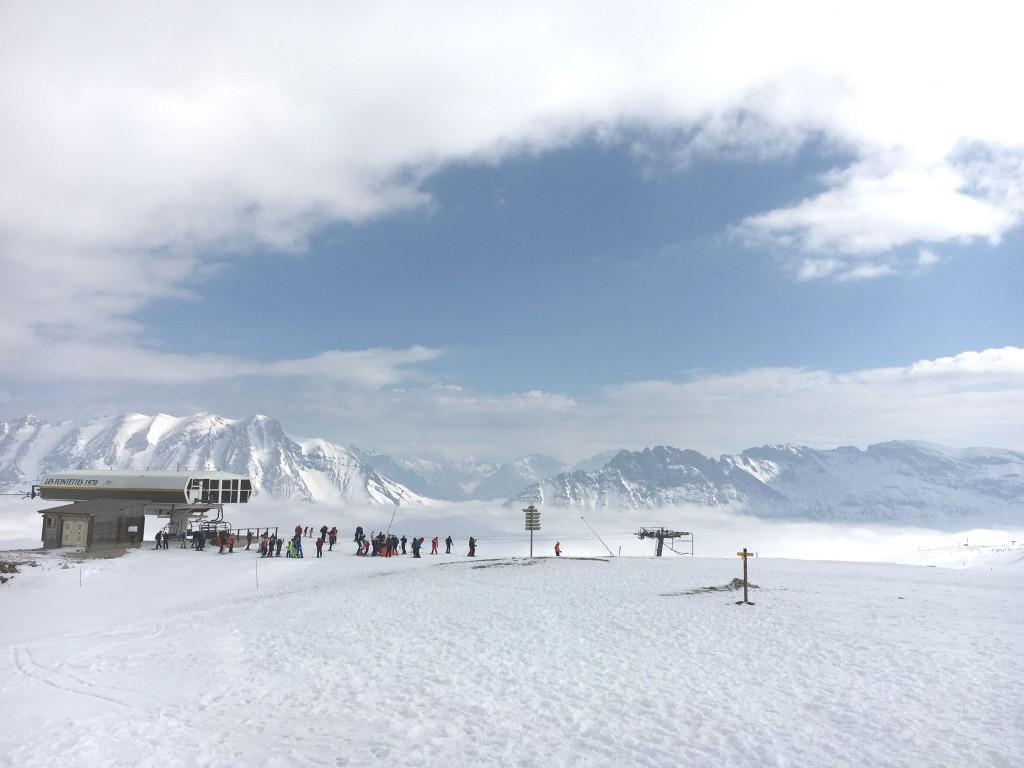 sneeuw, aftellen, winterpret, verkoeling