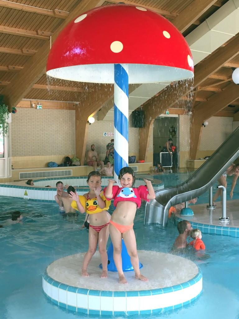 kamperen, vacansoleil, zwembad, puddle jumper