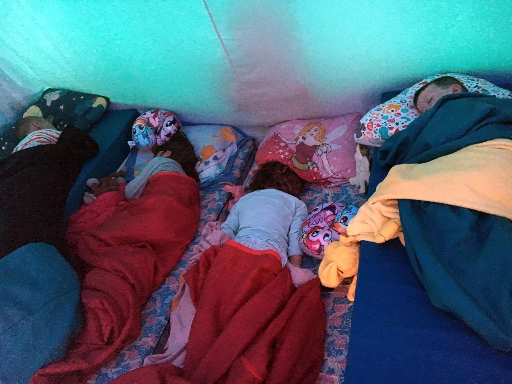 vacansoleilmaaktjeblij, tent , camperen