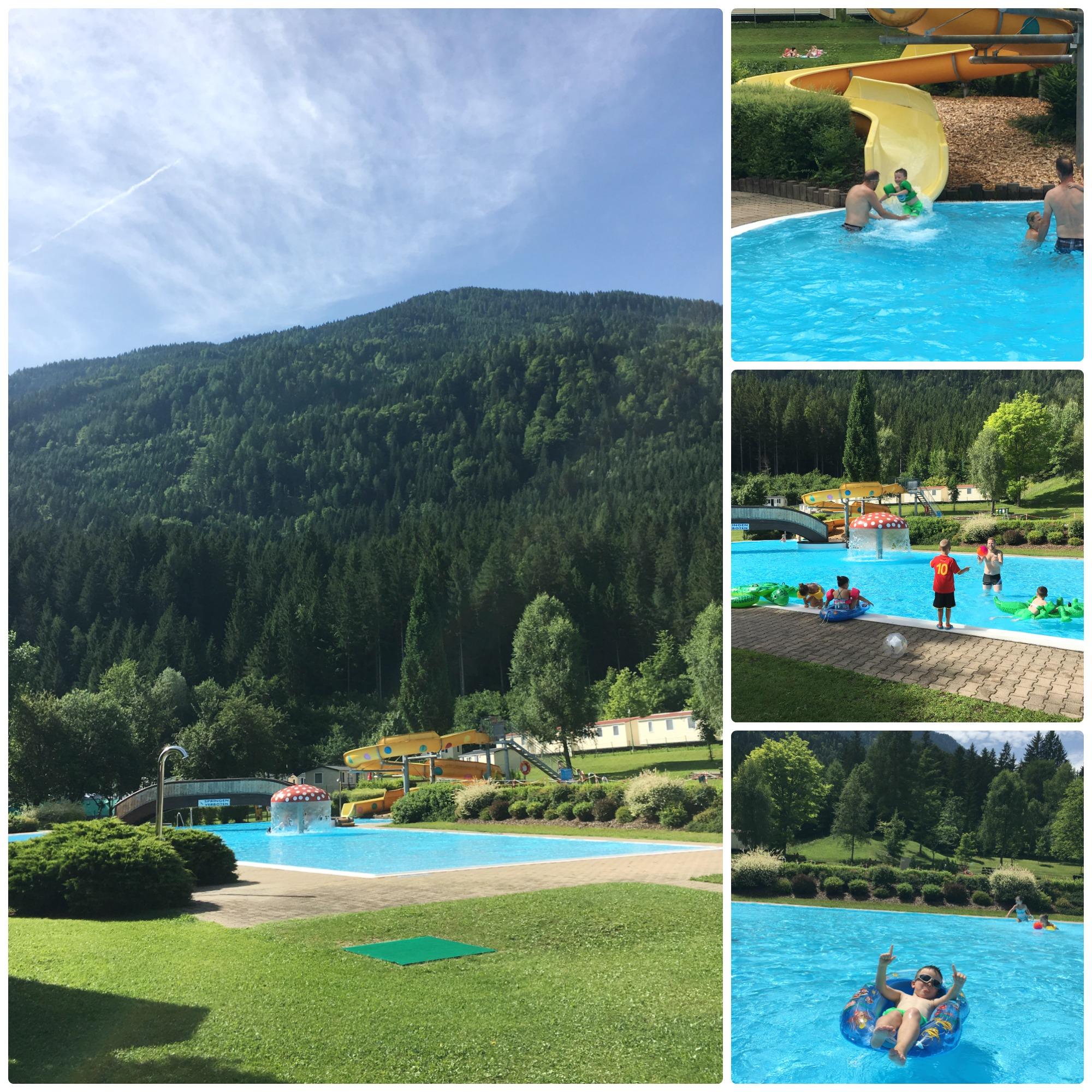 kamperen, zwembad