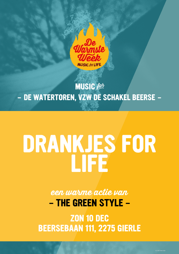 De Warmste Week –  Drankjes for Life