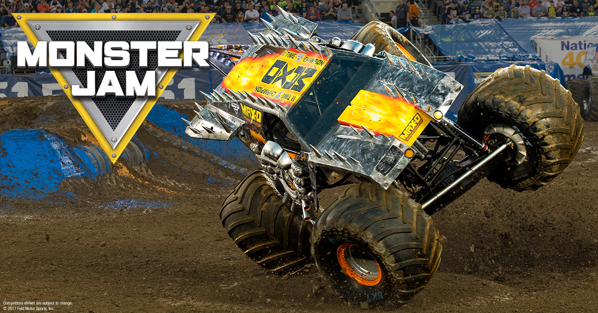 Win Win Win: 4 tickets voor Monster Jam!