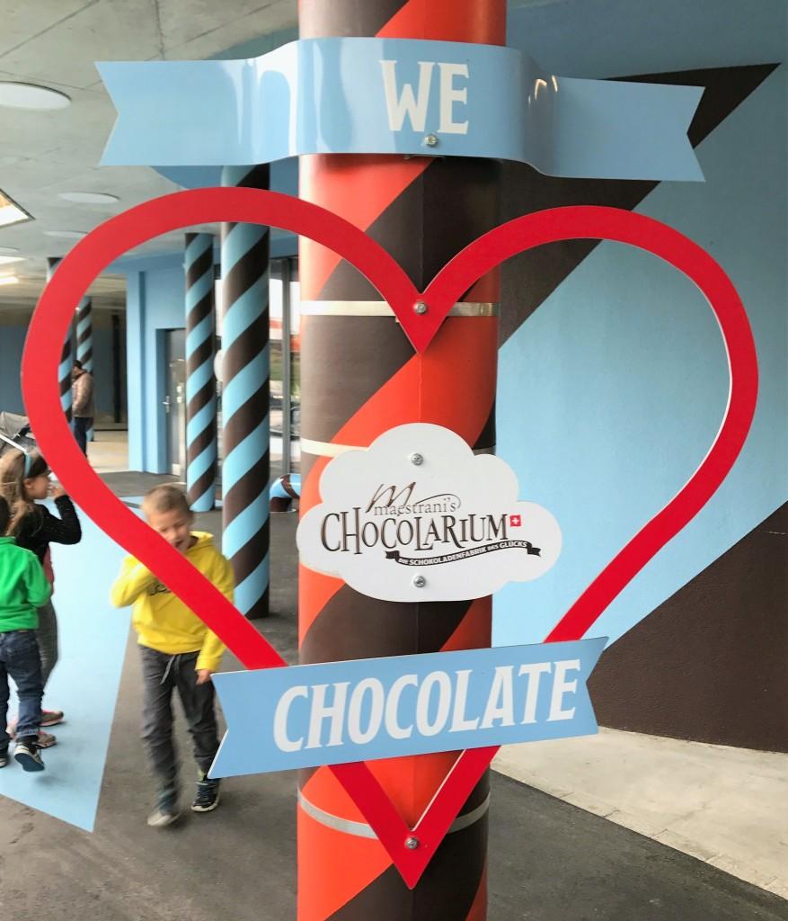ZWITSERLAND, maestrani's chocolarium