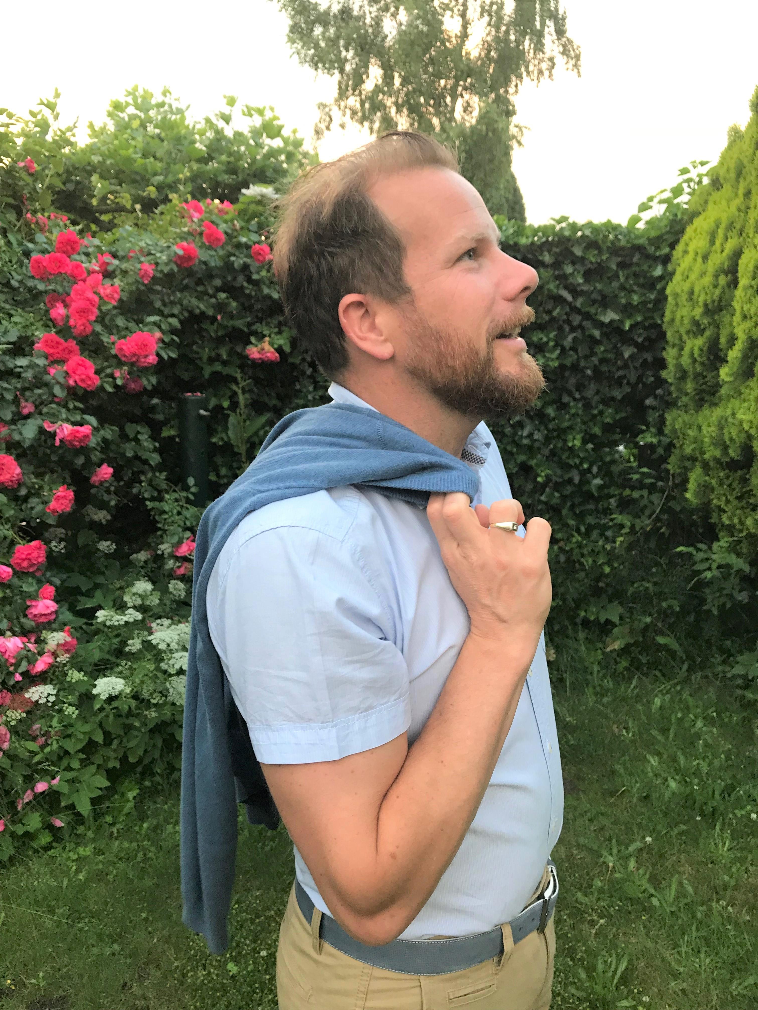Wanneer je man van fotoshoot doet #hemdvoorhem