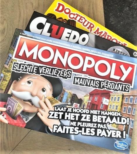 hasbro, monopoly voor slechte verliezers