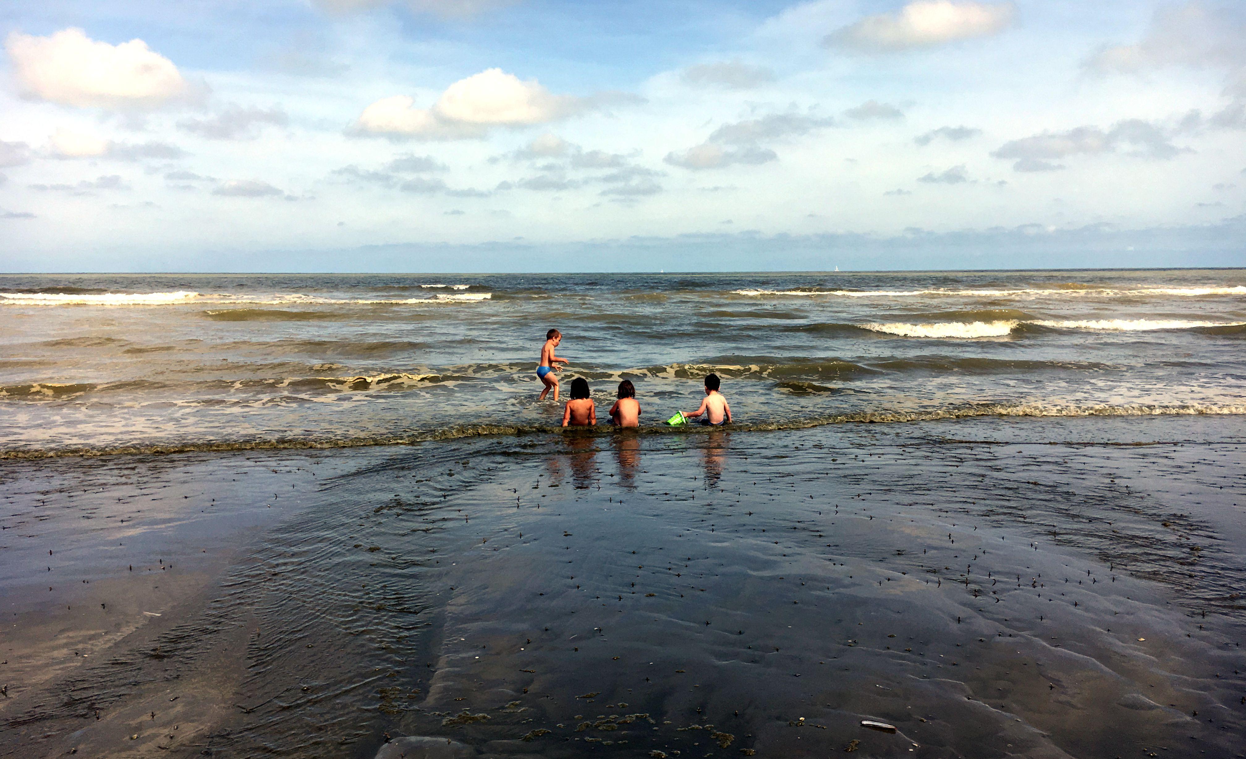 noordzee, strand