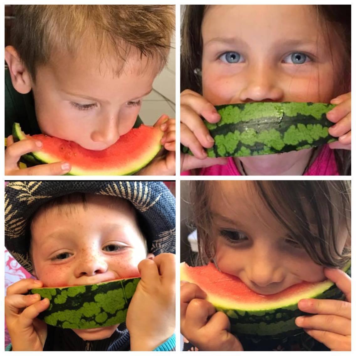 watermeloen, happy thoughts