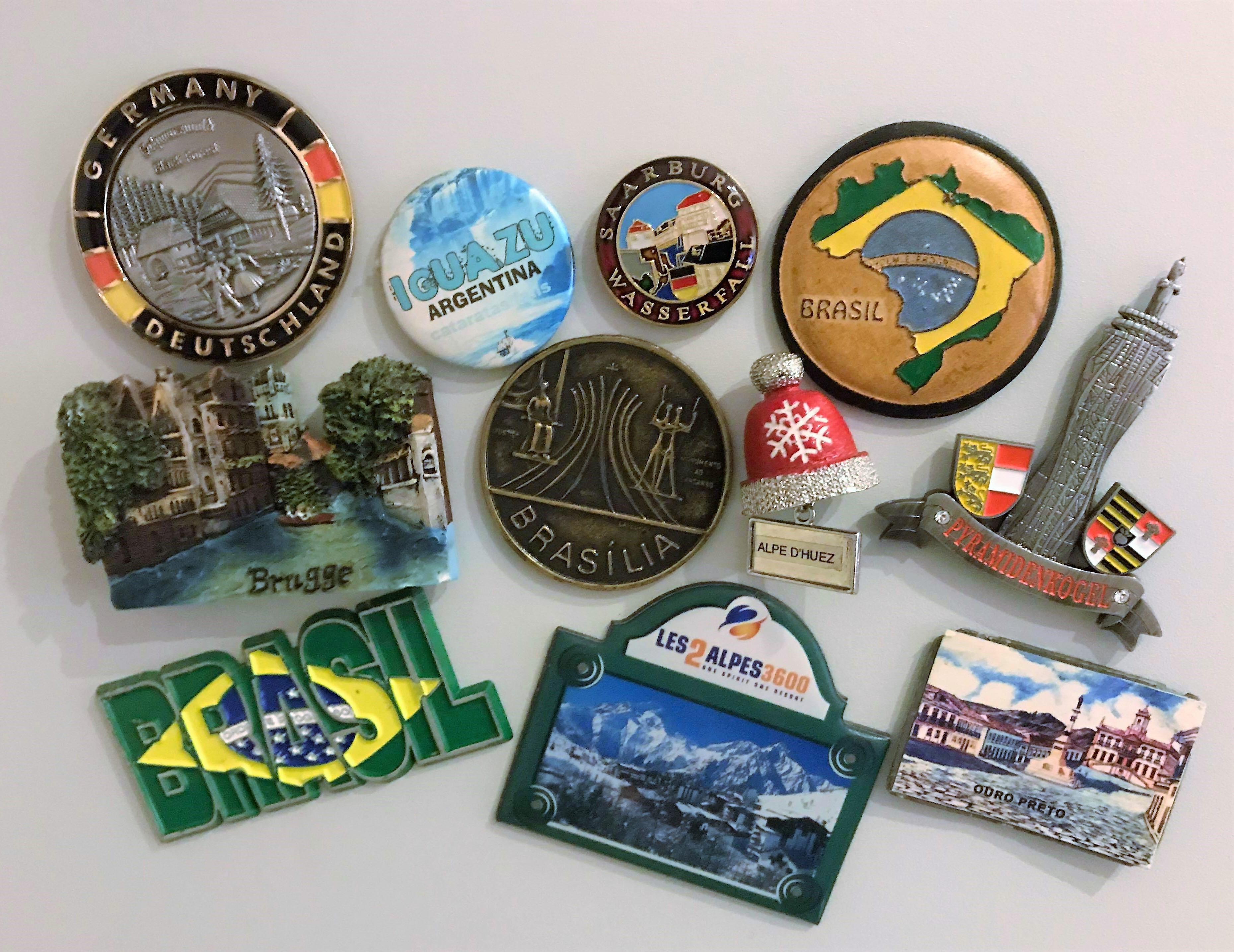 magneten, vakantieherinnering